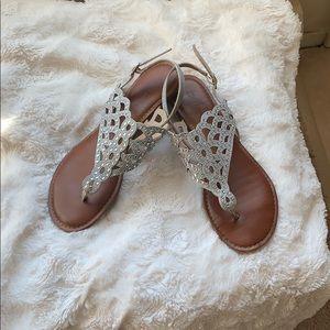 Zigi SoHo Rhinestone sandals size 8